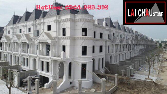 Công trình dự án tại Tây Hồ, Hà Nội (đá lai châu)